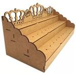 Piruliteiro Escada para 36 Pirulitos Coroa - Palácio da Arte
