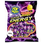 Pirulito Pop Mania Energy Recheio Chiclete C/50 - Riclan
