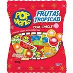 Pirulito Pop Mania Frut Tropicais Caixa com 50 - 1un