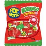 Pirulito Pop Mania Morango Caixa com 50 - 1un