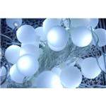 Pisca de Bolinha 40 Leds Branco Frio 110v 4 Funções