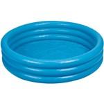 Piscina Azul Cristal 481 Litros - Importado