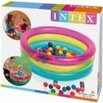 Piscina de Bolinhas Intex Infantil com 50 Bolinhas