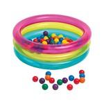 Piscina de Bolinhas Multicolor - 132L