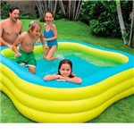 Piscina Familiar 57495 1215 Litros Azul Intex