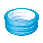 Piscina Inflável 43 Litros BestWay #51033 Azul 3 Anéis