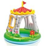 Piscina Inflavel Castelo com Cobertura Baby Divertido INTEX
