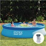 Piscina Inflável Easy Set 7.290 Litros com Filtro - Intex - Intex
