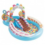 Piscina Inflável Infantil Playground Candy Zone 206 Litros Intex