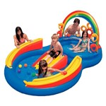 Piscina Playground Arco-Iris 246 Litros - Intex