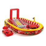 Piscina Playground Disney Carros 636l 57134 Vermelho Intex