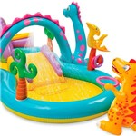 Piscina Playground Mundo Encantado dos Dinossauros 280L - Intex