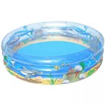 Piscina Splash And Play Vida no Oceano 697 Litros