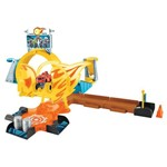 Pista e Mini Veículos - Blaze - Axel City - Mattel
