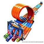 Pista e Veículo - Hot Wheels - Track Builder - Criando Corrida - Mattel