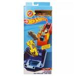 Pista e Veículo - Hot Wheels - Track Builder - Giro Feroz - Mattel