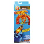Pista e Veículo Hot Wheels Track Builder Salta Fogo - Mattel