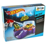 Pista Hot Wheels Color Change - Ciclo de Lavagem - Mattel