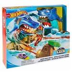 Pista Hot Wheels Conjunto Tubarão Fnb21 - Mattel