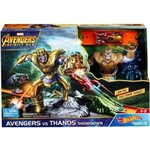 Pista Hot Wheels Guerra Infinita Avengers Vs Thanos