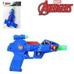 Pistola com Som e Luz a Pilha Vingadores Avengers na Solapa