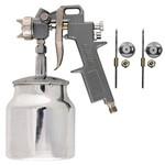 Pistola de Pintura por Sucção Bico 1.2/1.5/1.8 Caneca 750ml - STELS - 5731755