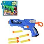 Pistola Lanca Dardo Espuma com 5 Dardos Razor Colors na Cartela