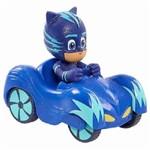 Pj Masks Mini Veículo Azul Menino Gato - Dtc