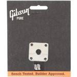 Placa Cromada para Jack - Prjp 040 - Gibson