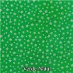 Placa de EVA Metalizado Estrelas 77 - Verde Natal