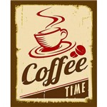 Placa de Mdf e Decoupage Litocart 19,5 X 24,5 Cm – Modelo Lpmc-54 - Coffee Tim