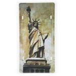 Placa de Metal Decorativa Estátua da Liberdade