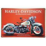 Placa de Metal Decorativa Harley Davidson Guide