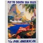 Placa de Metal Pan American