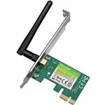 Placa de Rede Tp-Link Wireless N 150 1 Antena Interna Pci-Express Tl-Wn781nd