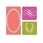 Placa de Textura Sizzix - Embossing Folder - Arabescos