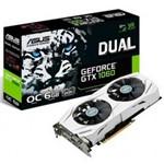 Placa de Video Asus Geforce Gtx 1060 6gb Gddr5 Oc Dual Fan