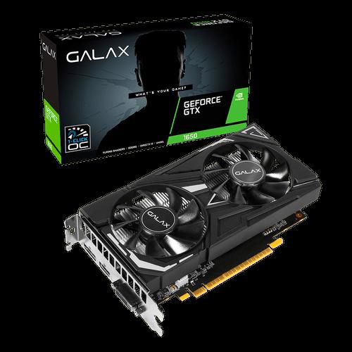 Placa de Vídeo Galax Nvidia GeForce GTX 1650 4Gb 1-Click OC 65 128B Galax 65SQH8DS08EX