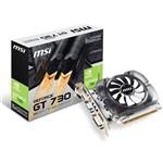 Placa de Vídeo NVIDIA GeForce GT730 2GB DDR3 912-V809-2261 MSI