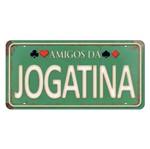 Placa Decorativa 15x30cm Amigos da Joagatina Lpd-054 - Litocart