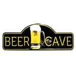 Placa Decorativa 15x30cm Beer Cave LPDR-012 - Litocart