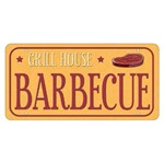Placa Decorativa 15x30cm Gril House Barbecue Lpd-046 - Litocart