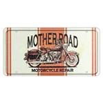 Placa Decorativa 15x30cm Mother Road Lpd-026 - Litocart
