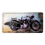 Placa Decorativa 15x30cm Moto Lpd-025 - Litocart