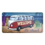 Placa Decorativa 15x30cm Welcome To Beach Lpd-018 - Litocart