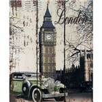 Placa Decorativa 24,5x19,5cm Big Ben London Lpmc-089 - Litocart
