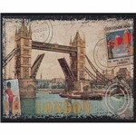 Placa Decorativa 24,5x19,5cm London Postcard Lpmc-096 - Litocart