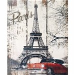 Placa Decorativa 24,5x19,5cm Paris Lpmc-088 - Litocart
