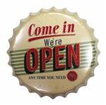 Placa Decorativa 25x25cm Come In We're Open Lpqc-030 - Litocart