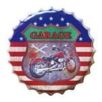 Placa Decorativa 25x25cm Moto LPQC-023 - Litocart